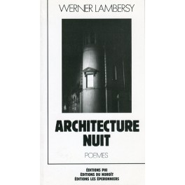 Lambersy Werner: Architecture Nuit