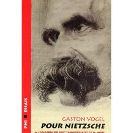Vogel Gaston: Pour Nietzsche