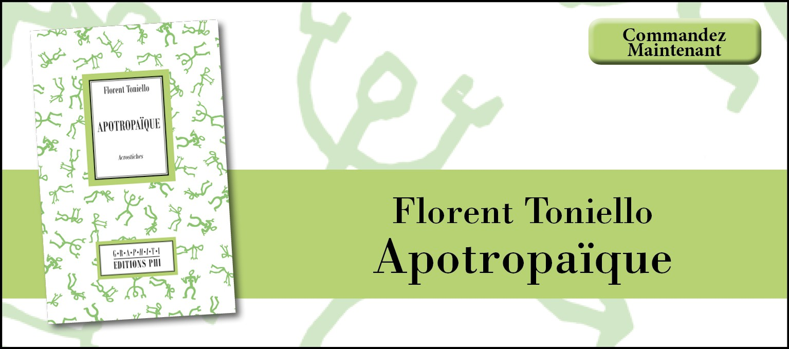 Florent Toniello - Apotropaique