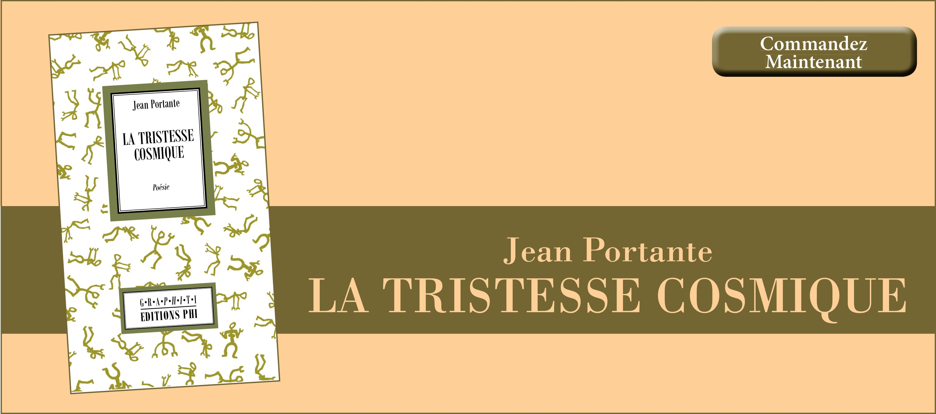 Jean Portante : La Tristesse cosmique