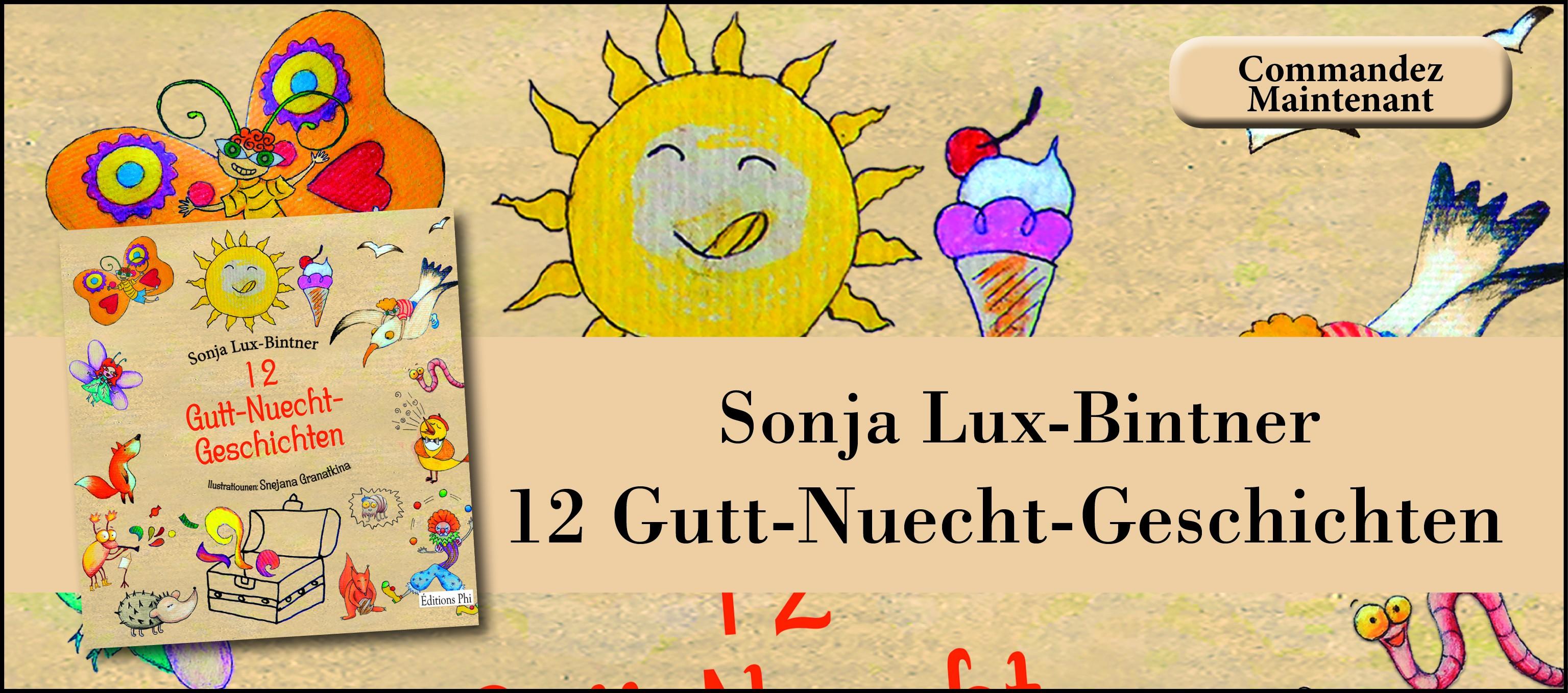 Sonja Lux-Bintner: 12-Gutt-Nuecht-Geschichten