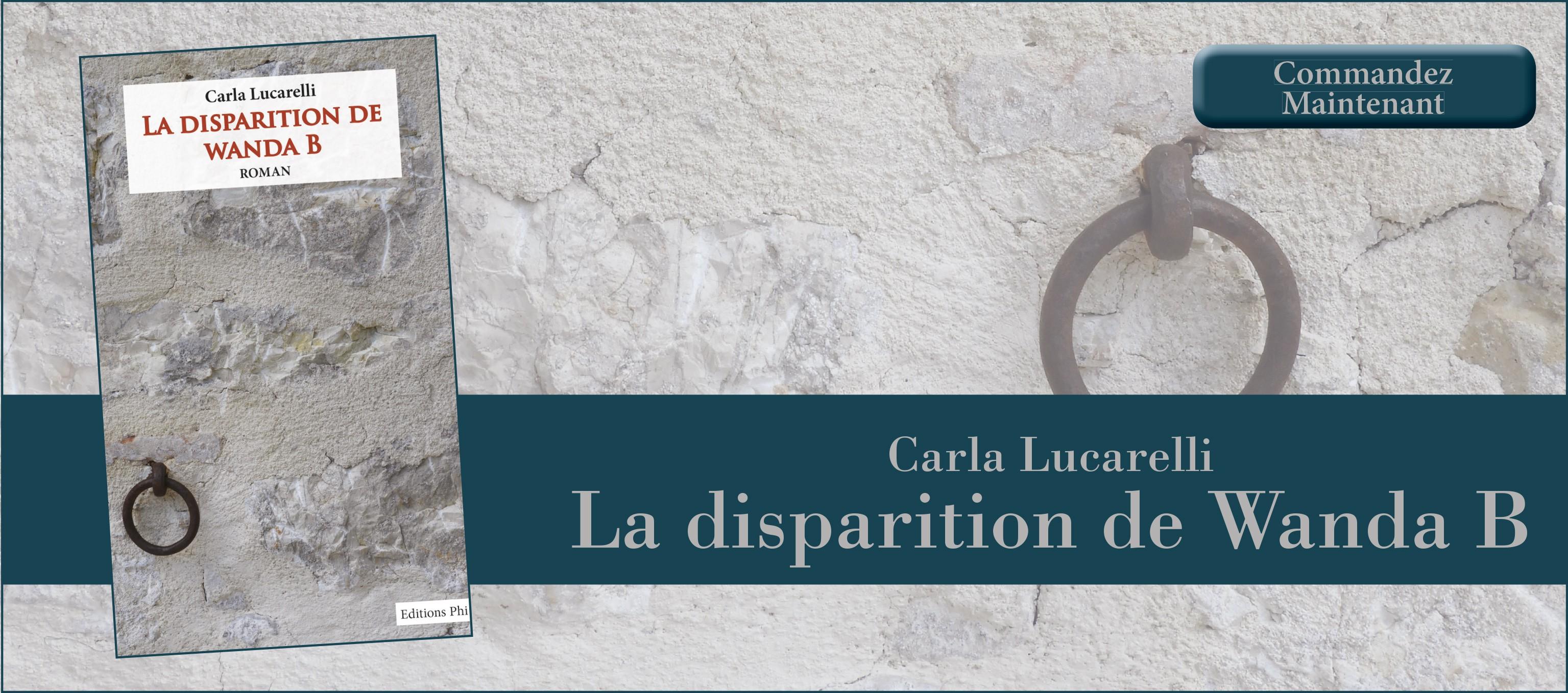 Carla Lucarelli : La disparition de Wanda B